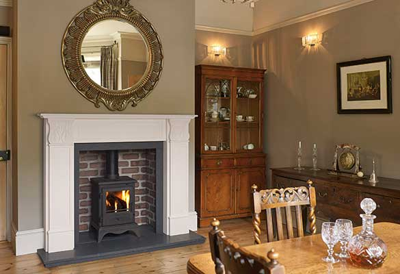 Sovereign Carisbrooke marble fire surround
