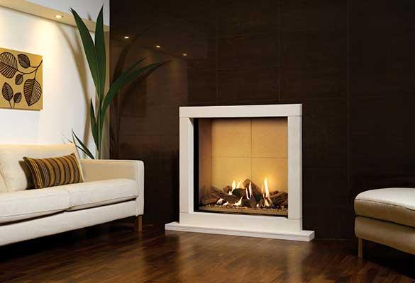 Gazco Riva2 sorrento gas fireplace