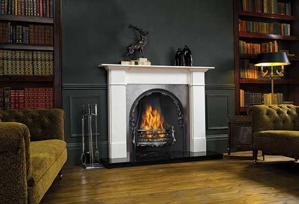Stovax Claremont marble fire surround